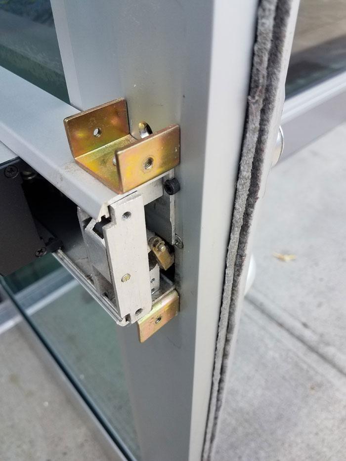 kawneer door installation instructions