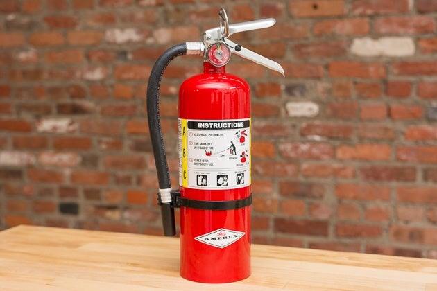 kidde fire extinguisher bracket instructions
