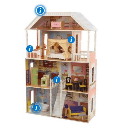 kidkraft savannah dollhouse instructions