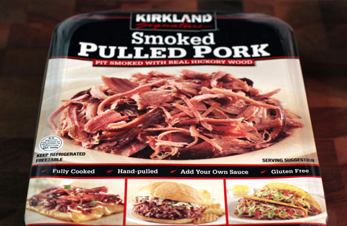 kirkland pulled pork heating instructions