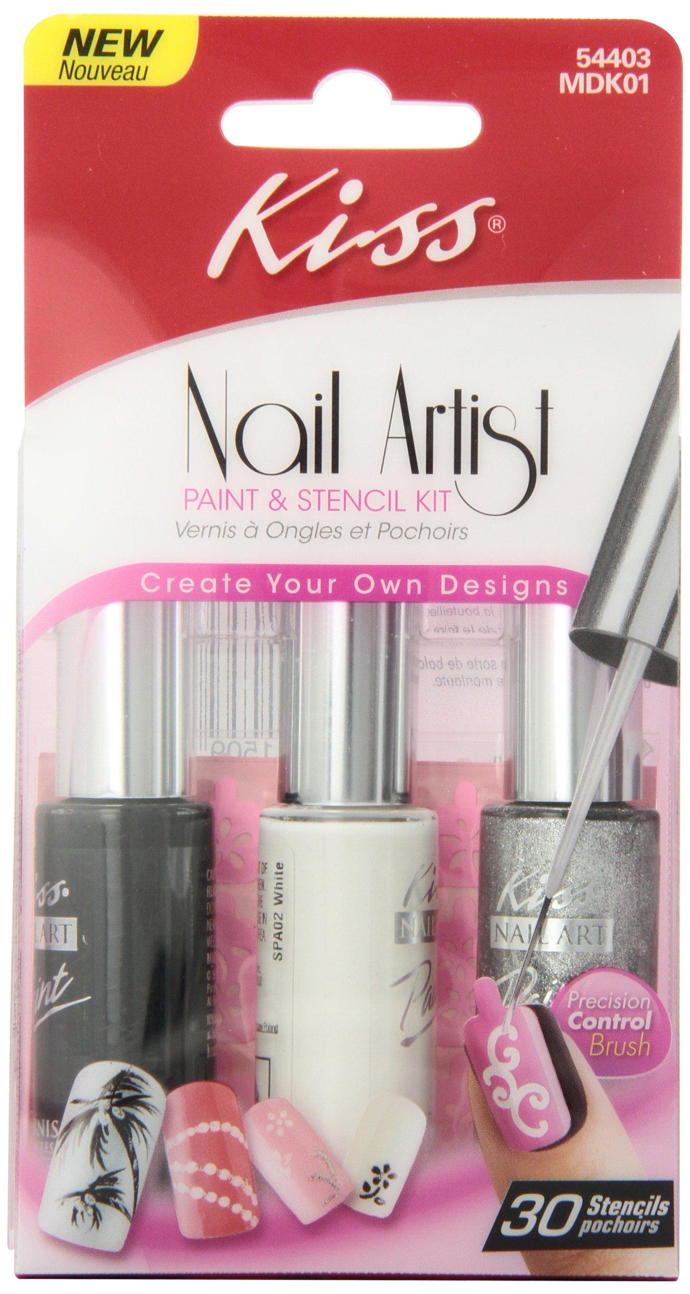 kiss salon secrets nail art starter kit instructions