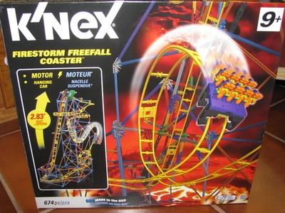 knex serpent spiral roller coaster instructions
