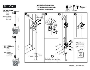 knoll fence installation instructions