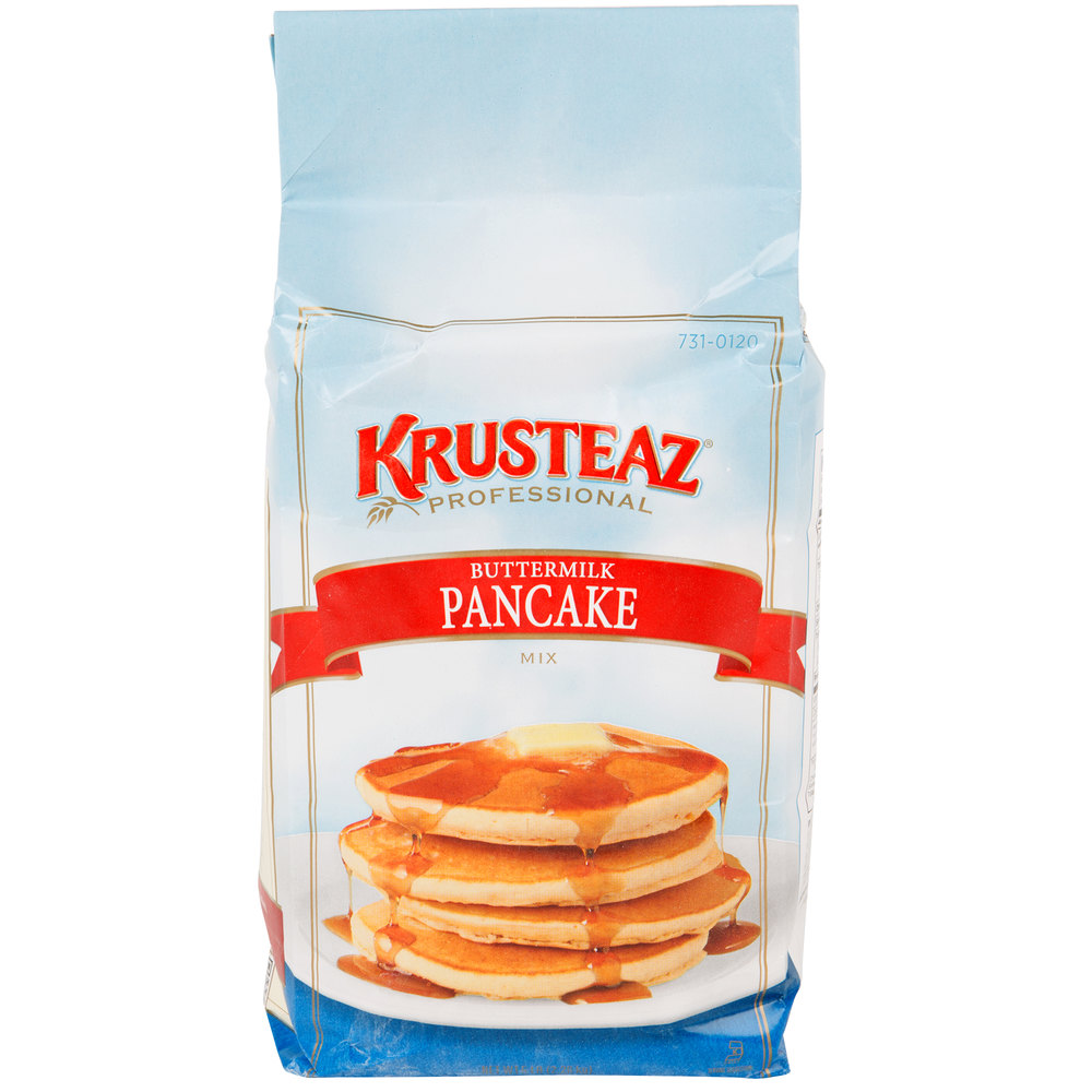 krusteaz buttermilk pancake mix instructions