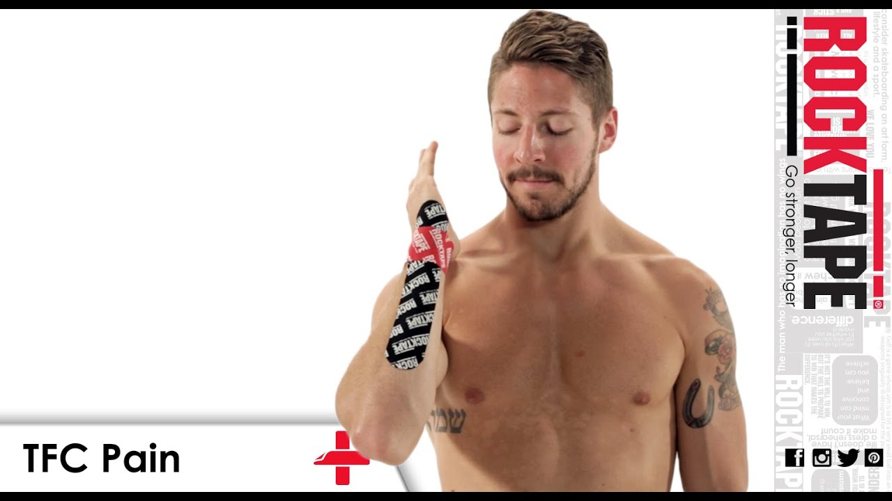 kt tape wrist instructions