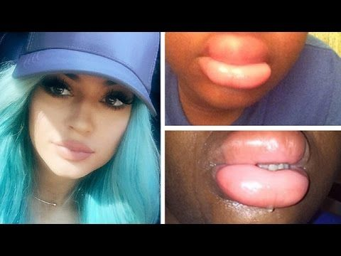 kylie jenner lip challenge instructions