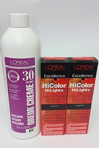l oreal hicolor hilights instructions