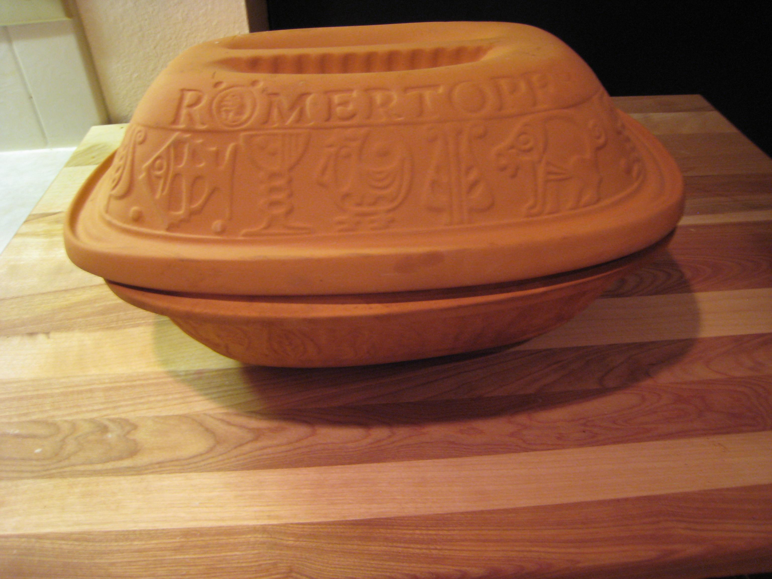 lagostina clay roaster instructions