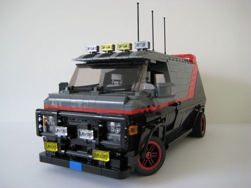 lego a team van instructions