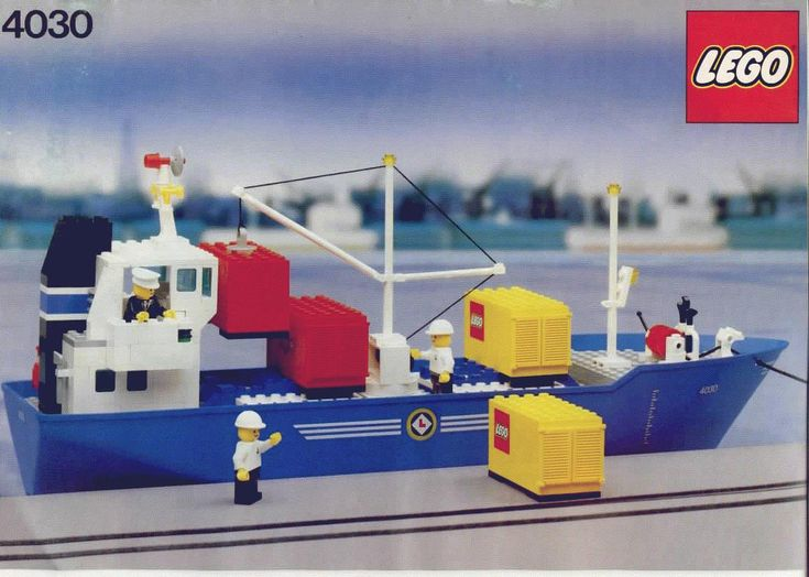 lego city boat instructions