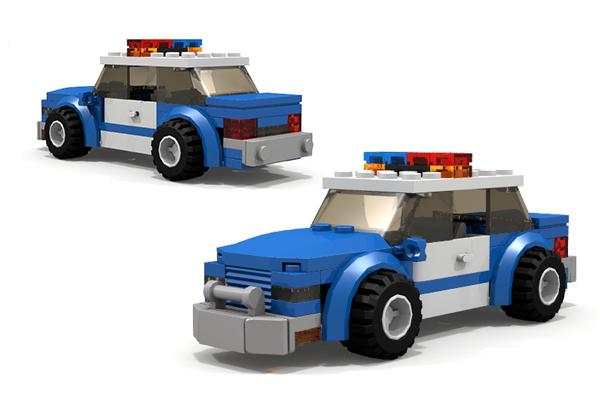 lego city police car instructions