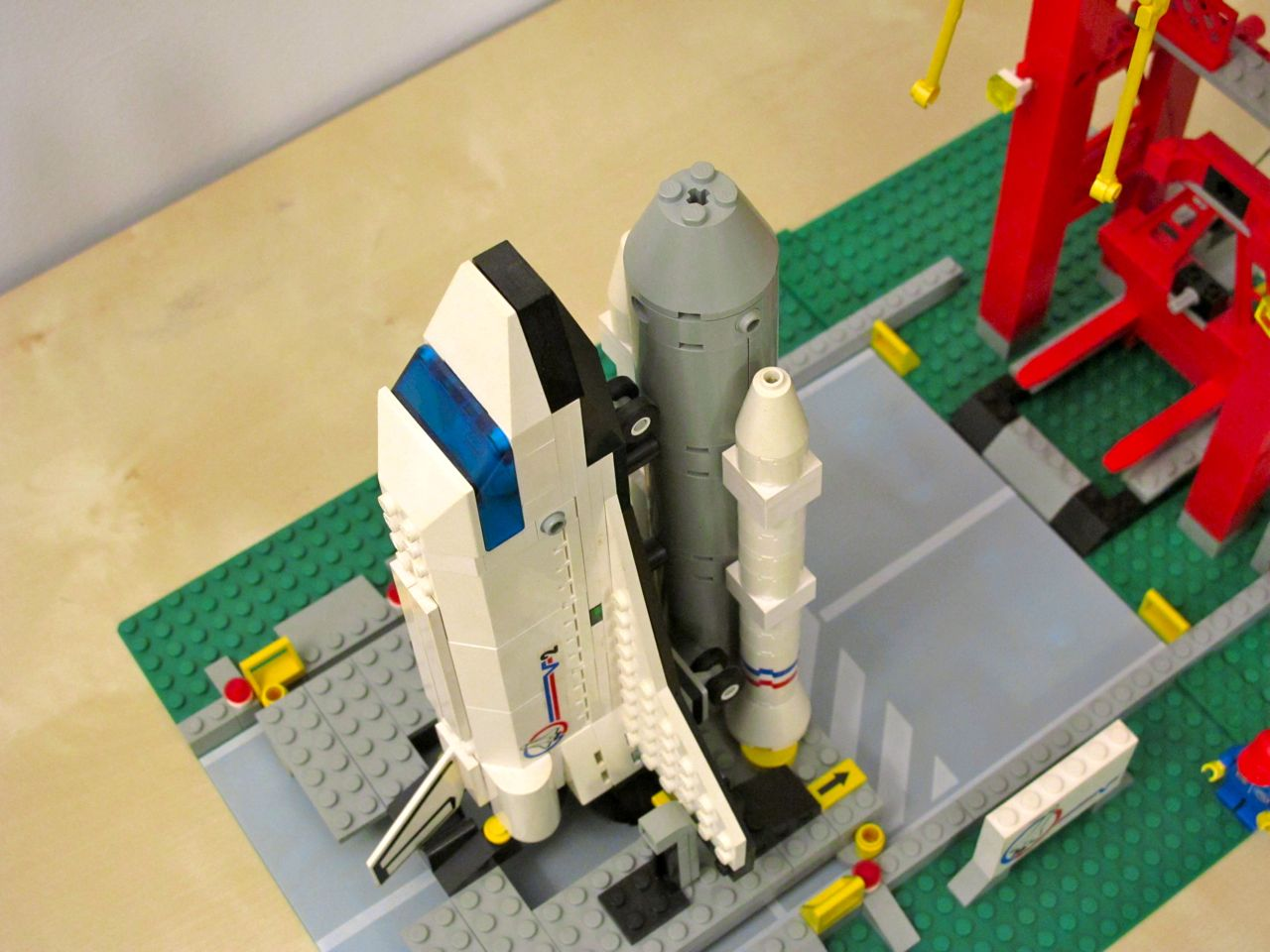 lego city shuttle instructions