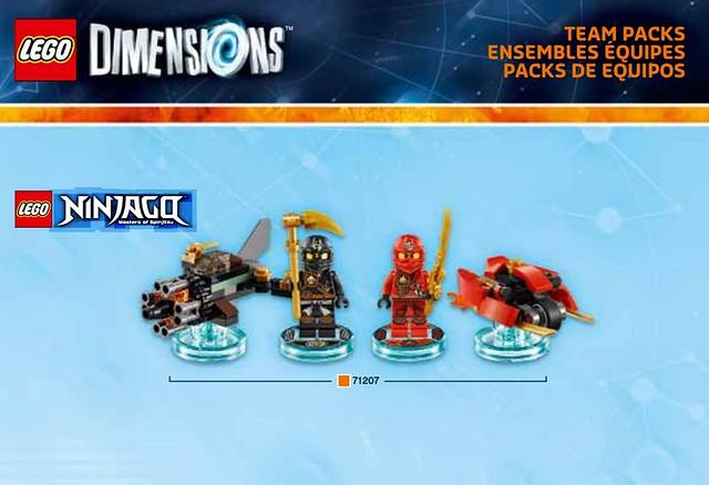 lego dimensions ninjago instructions 71239