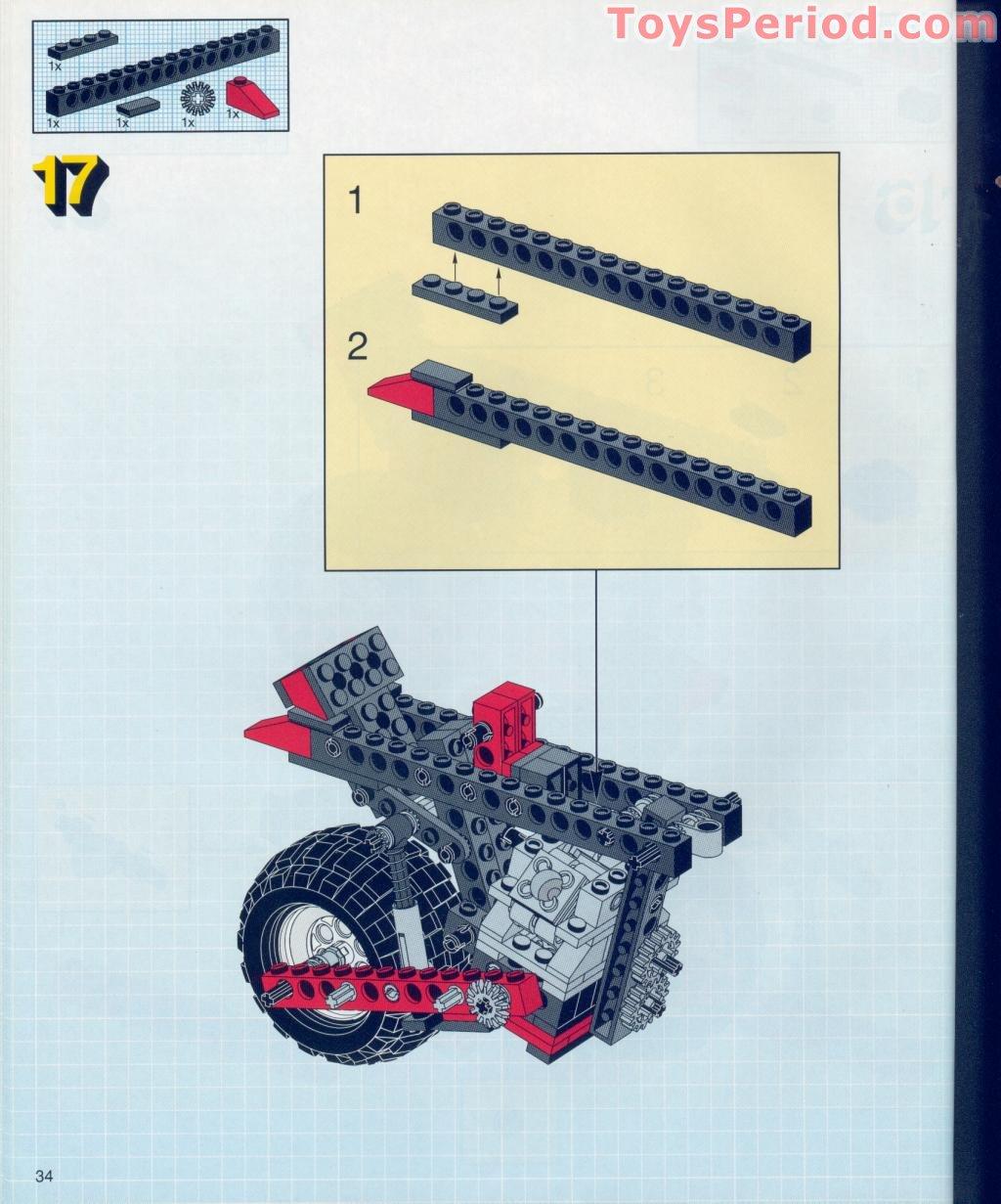 lego dune buggy instructions