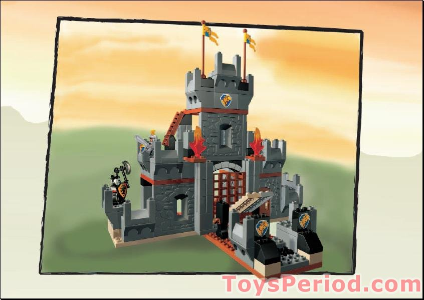 lego duplo castle instructions