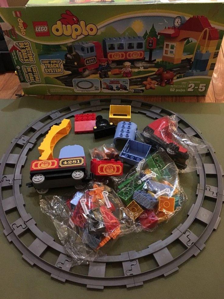 lego duplo train track instructions