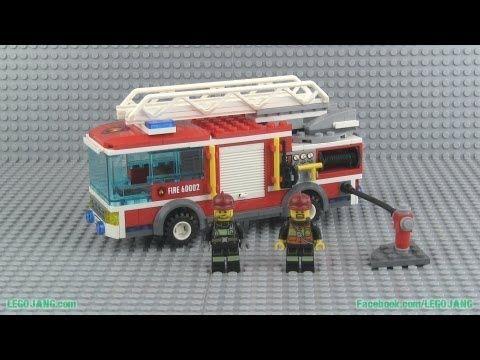 lego fire truck instructions 4208