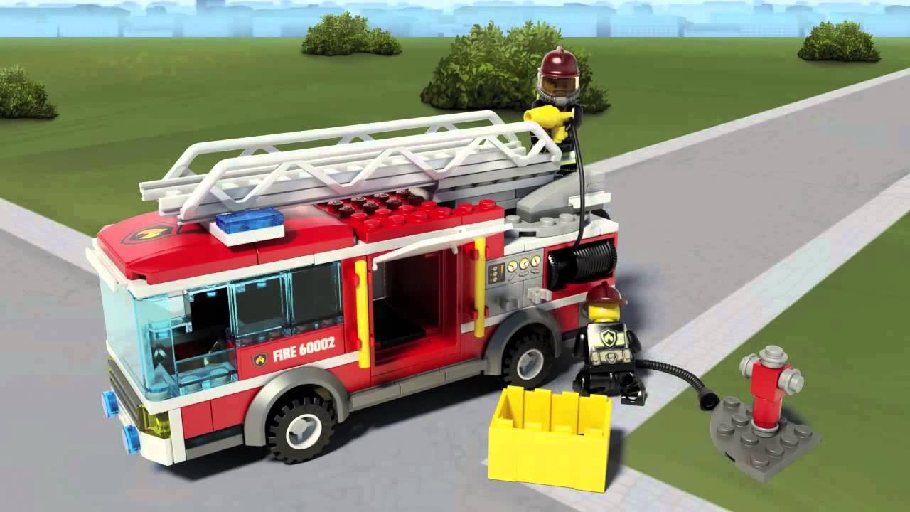 lego fire truck instructions 60002