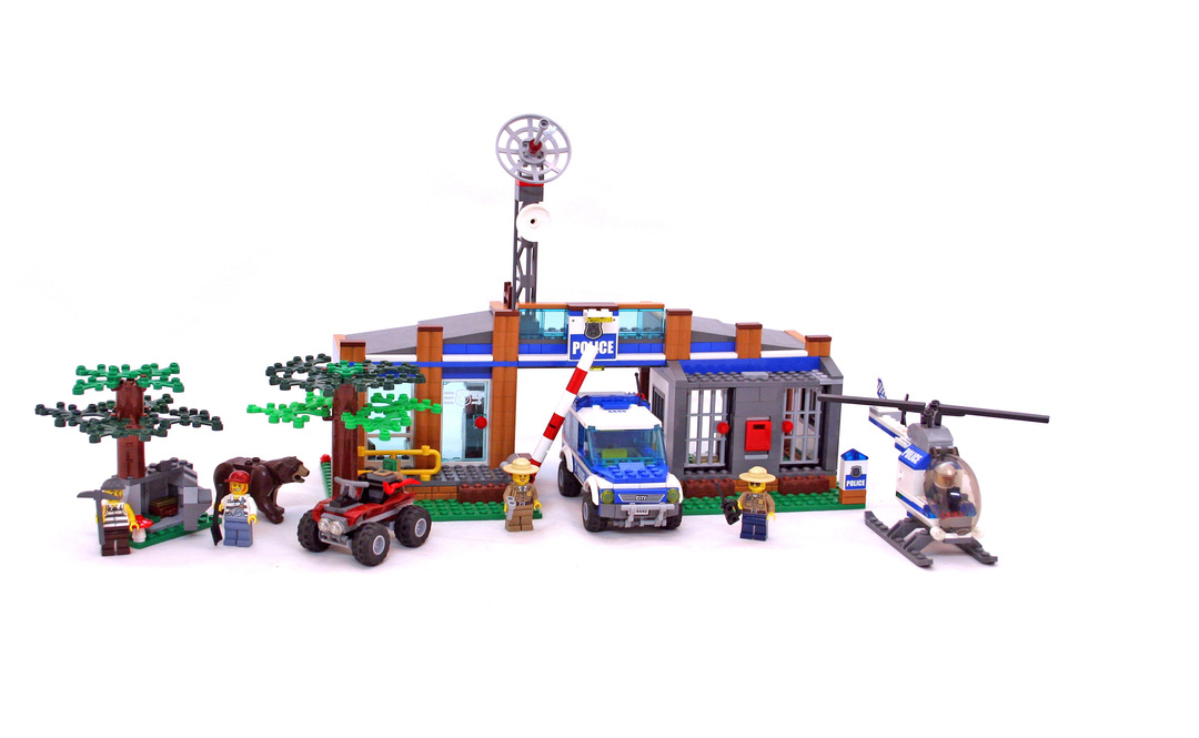 lego forest police station instructions