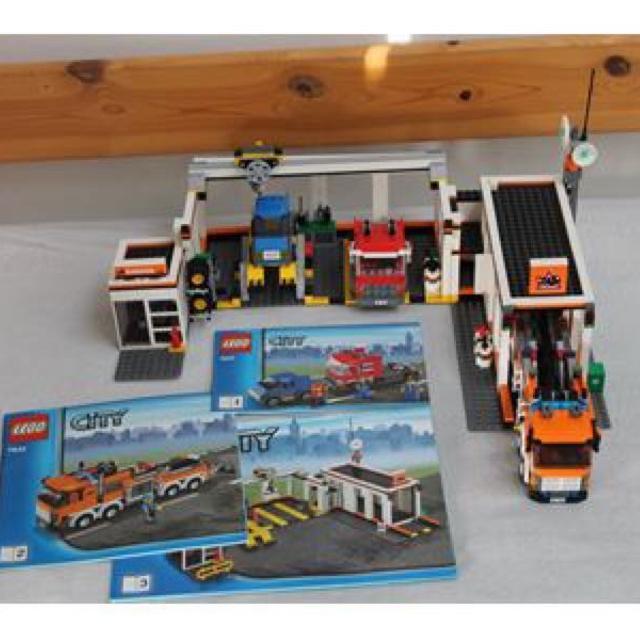 lego garage 7642 instructions