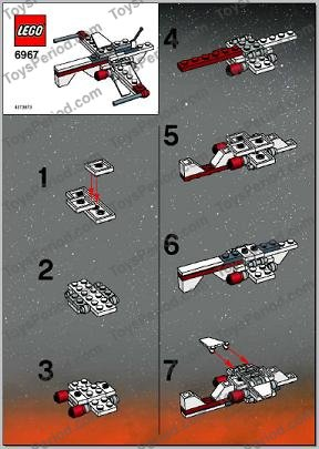 lego halo mini pelican instructions