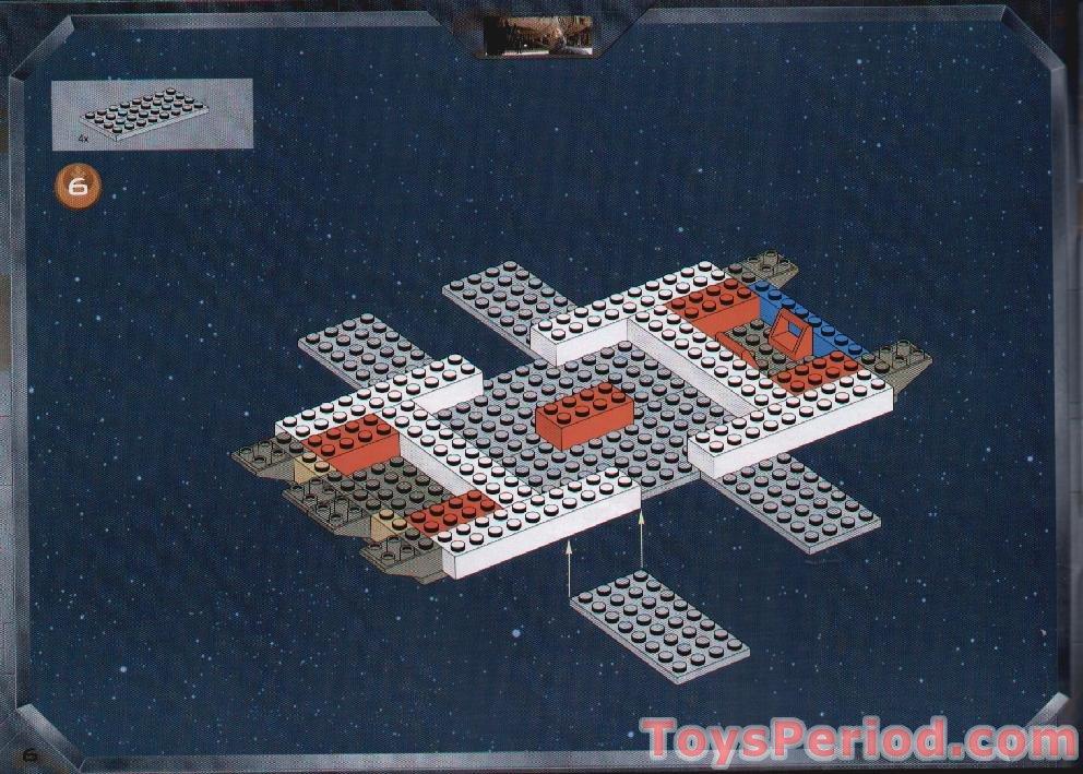 lego millenium falcon instructions