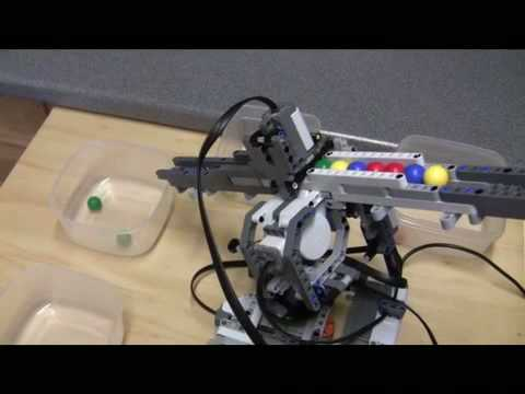 lego mindstorms ball shooter building instructions