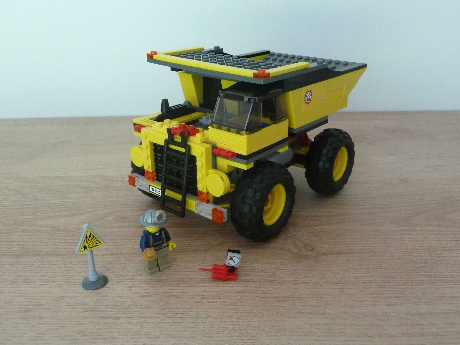 lego mining truck instructions