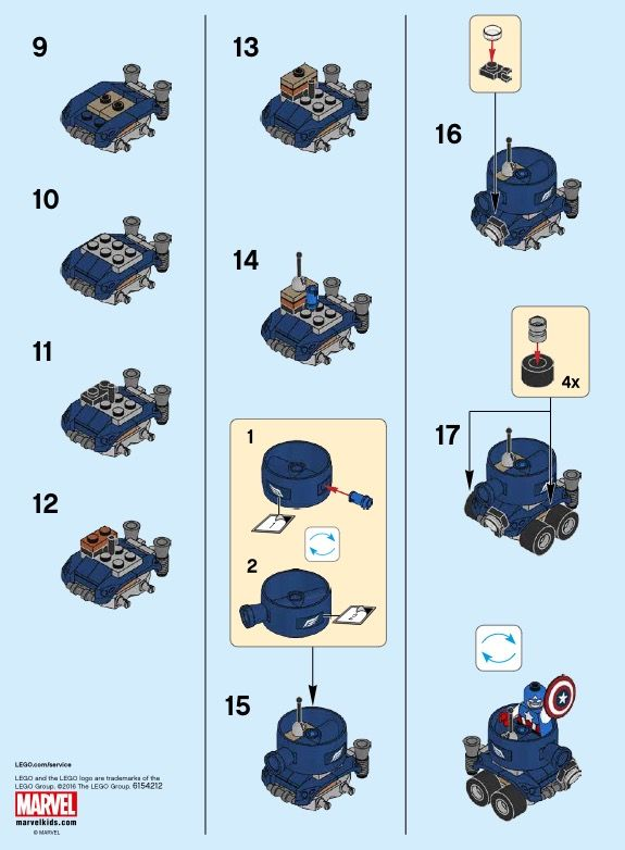 lego ocean explorer instructions