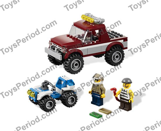 lego police pursuit instructions