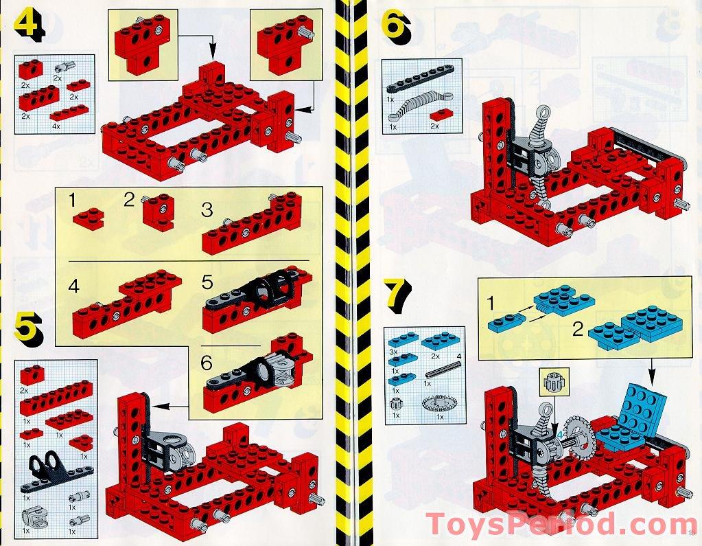 lego set building instructions