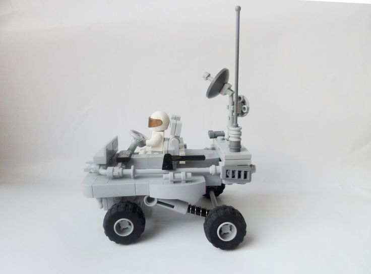 lego space buggy instructions