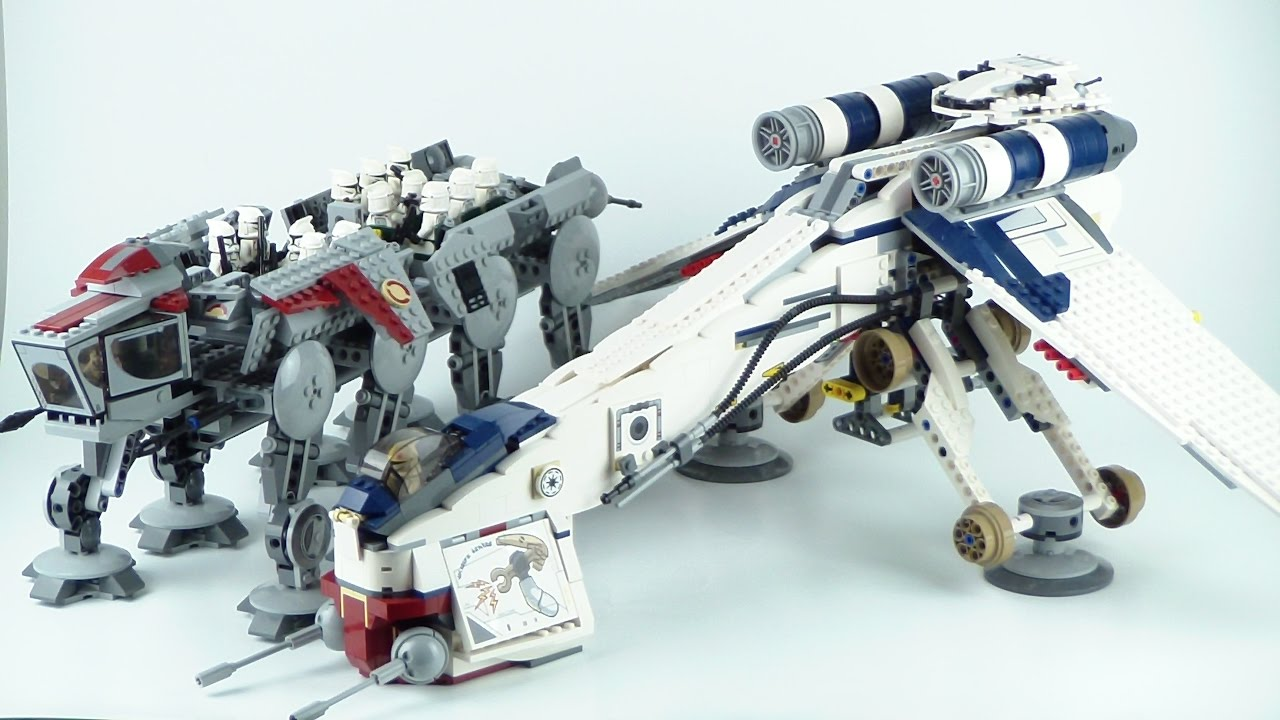lego star wars republic dropship instructions