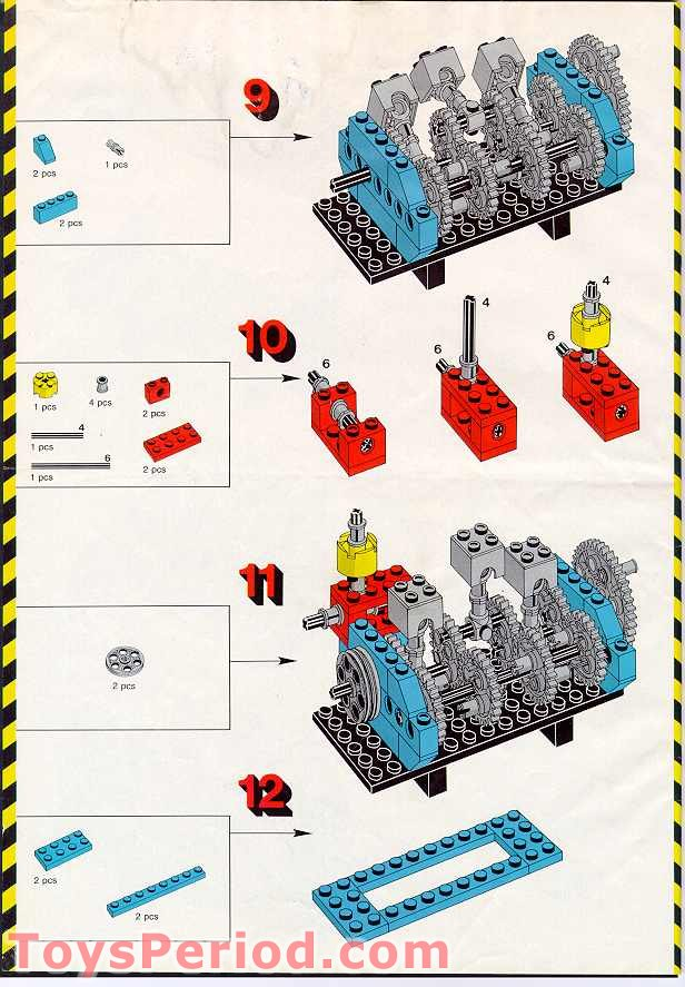 lego technic 8858 instructions