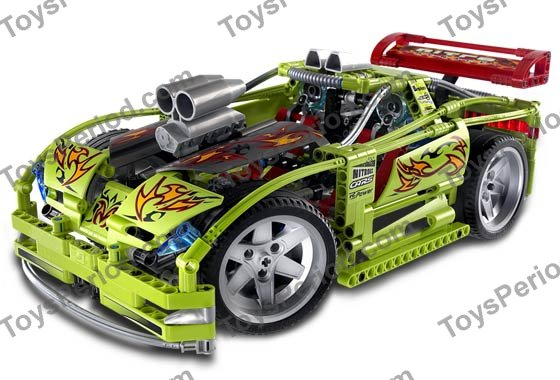lego technic power racer instructions