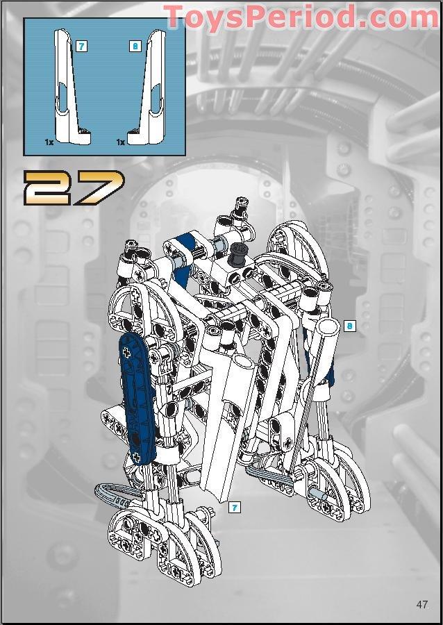lego technic r2d2 instructions