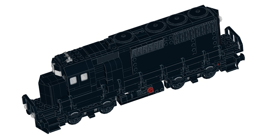 lego train instructions 60052