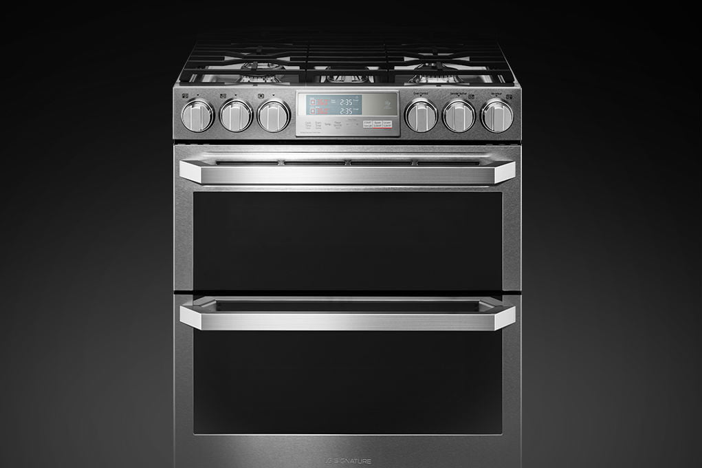 lg double oven cleaning instructions