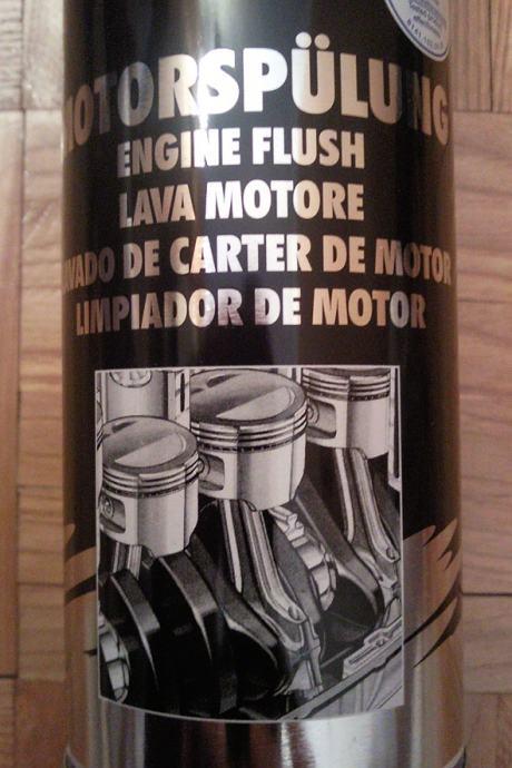 liqui moly engine flush instructions