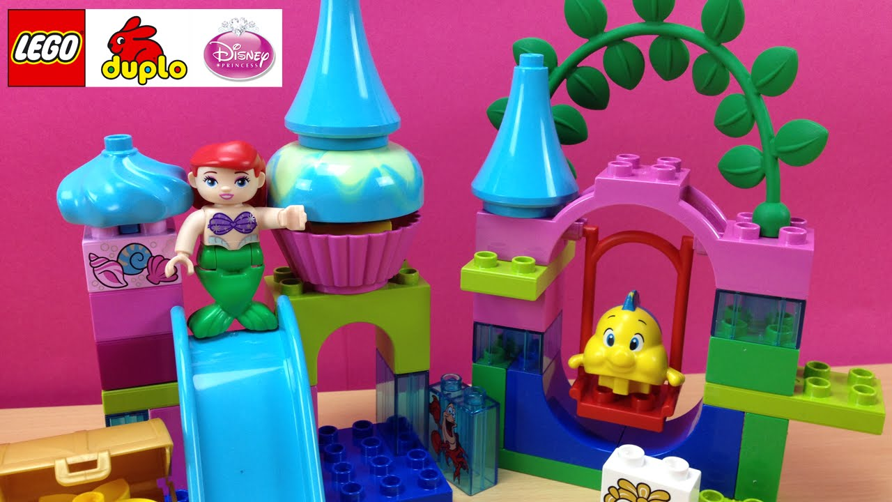 little mermaid lego duplo instructions