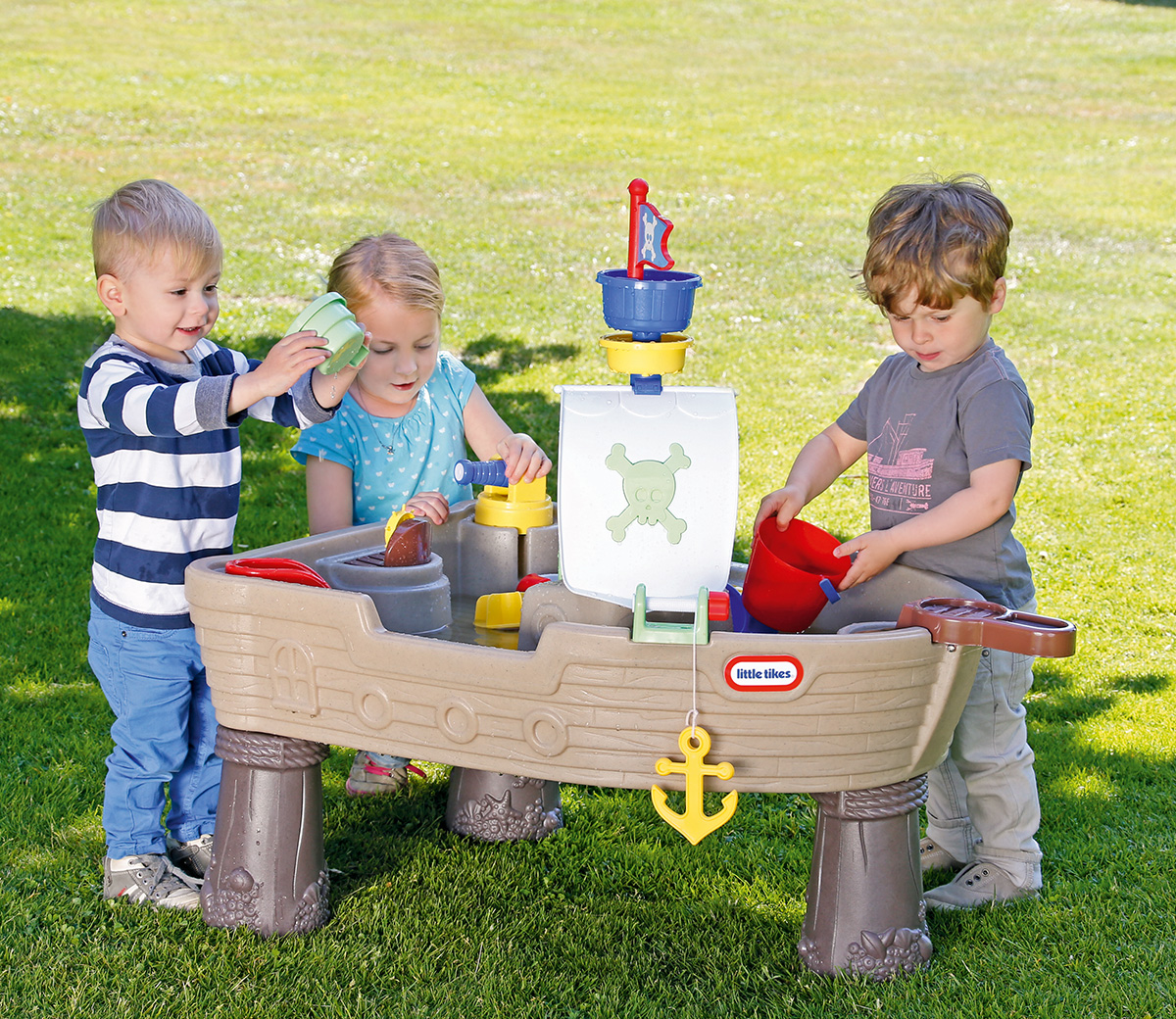 little tikes anchors away pirate ship instructions