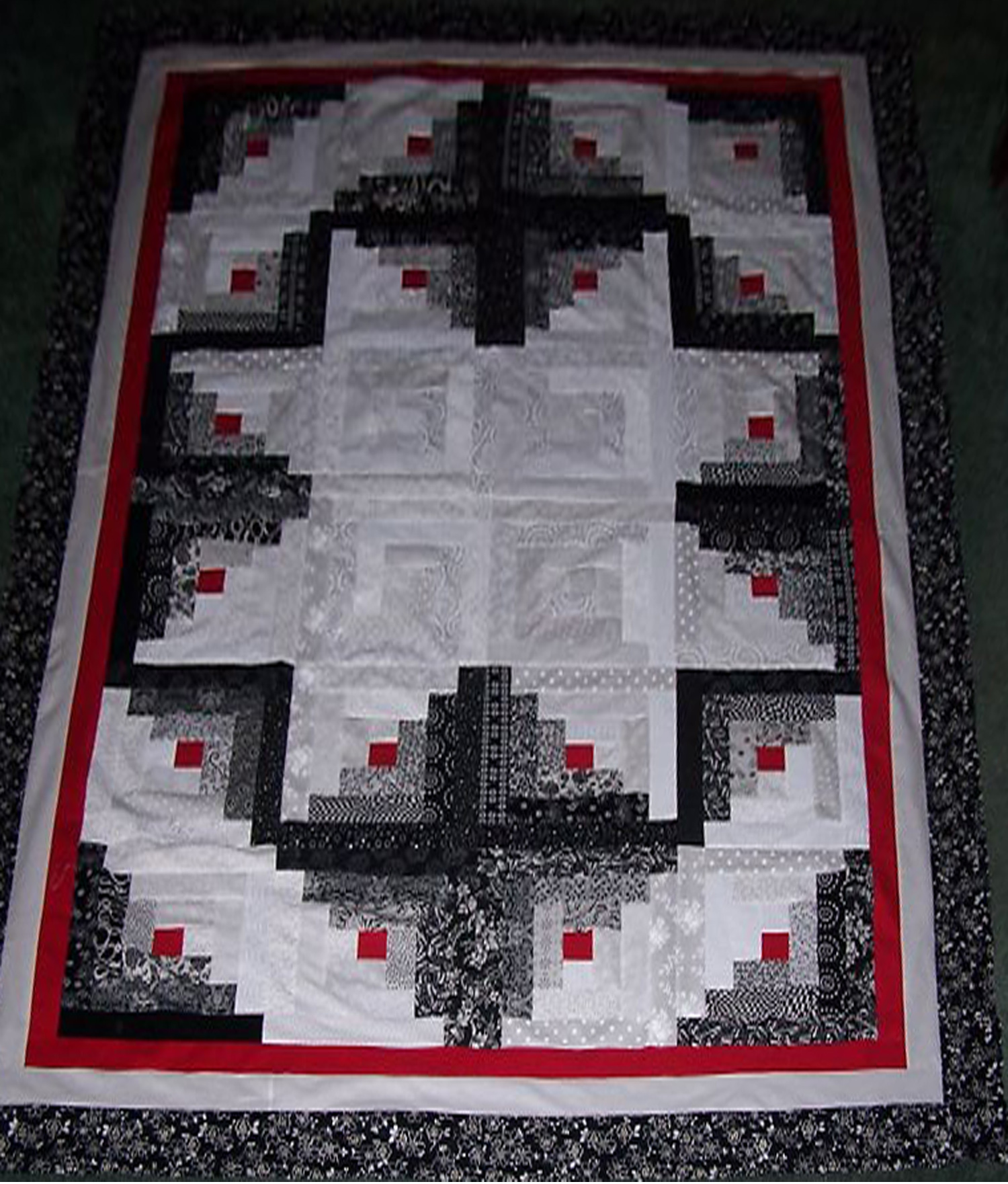 log cabin quilt pattern free with instructions