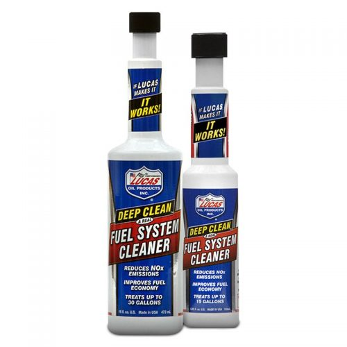 lucas deep clean fuel system cleaner instructions