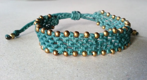 macrame bracelet patterns instructions