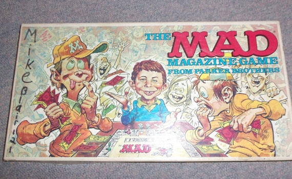 mad magazine card game instructions