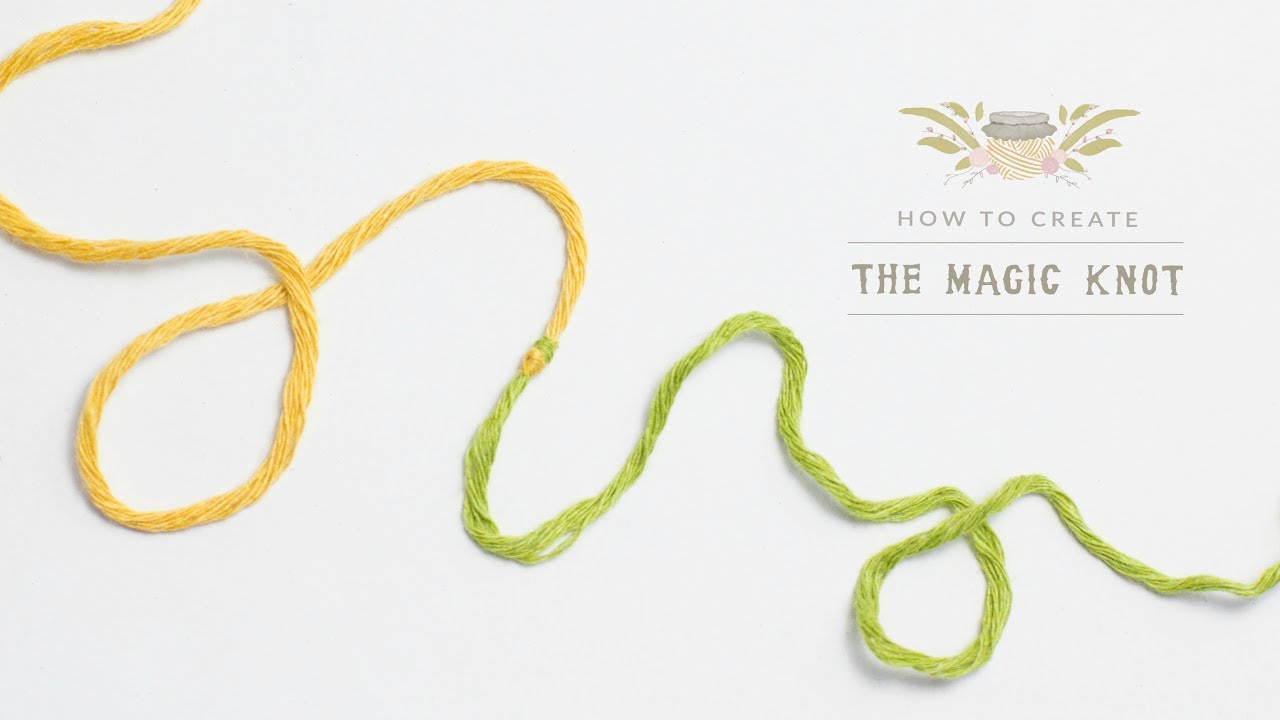 magic knot written instructions