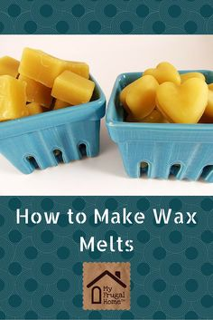 making wax melts instructions