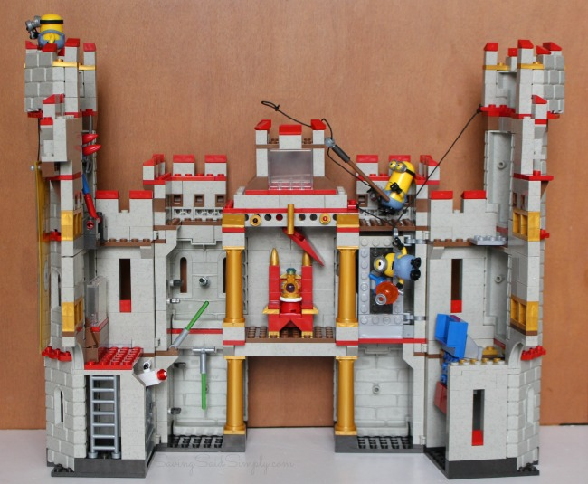 mega bloks megaplay adventure castle instructions