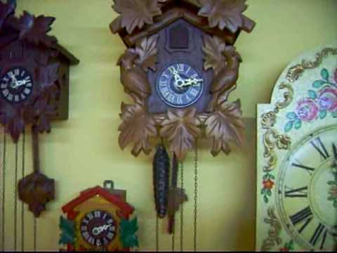 meridiana cuckoo clock instructions