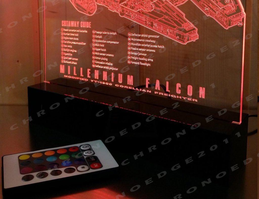 millennium falcon bluetooth speaker instructions